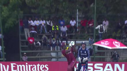 CWCQ POTD - Brathwaite smashes a six out of the ground