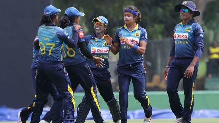 Sri Lanka v Pakistan, ICC Women's Championship, 1st ODI