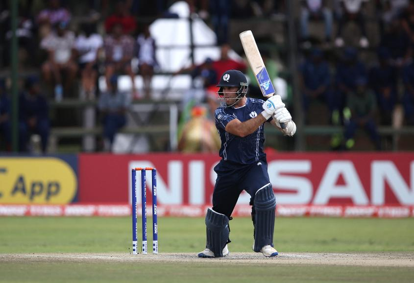 Kyle Coetzer, the Scotland captain, was consistent in scoring runs for his team throughout the tournament