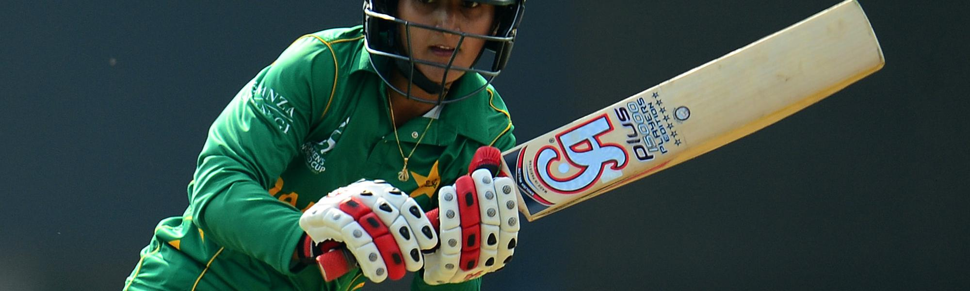 Bismah Maroof led the Pakistan batting with a 90-ball 89