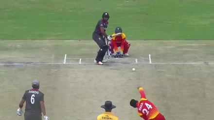 RAZA: Sikander's three wickets