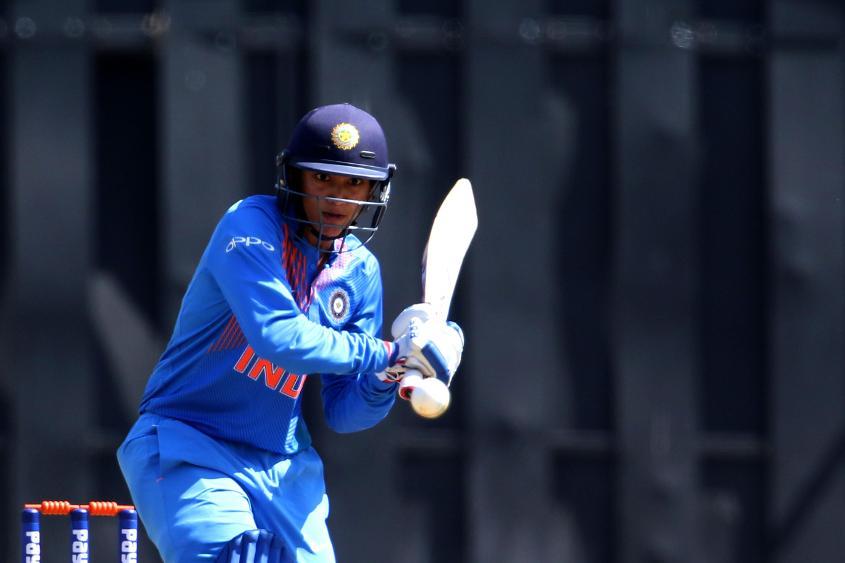 Smriti Mandhana scored her third T20I half-century