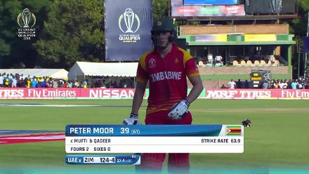 WICKETS: Zimbabwe fall just short of CWC19