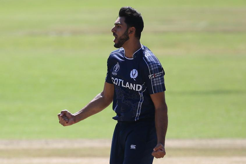 Safyaan Sharif was certainly Scotland's standout performer, picking up 17 wickets in seven games