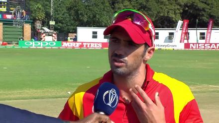 Zimbabwe win the toss and elect to field against UAE