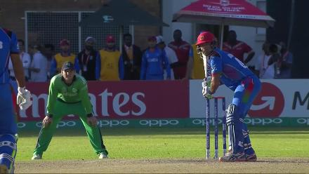 CWCQ POTD - Stanikzai hits the shot that takes Afghanistan to CWC19