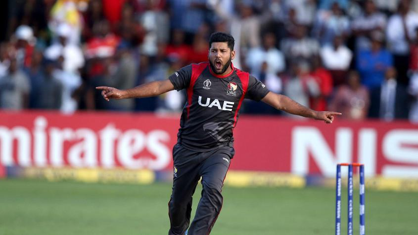 Mohammad Naveed was UAE's most prolific wicket-taker in the tournament, with 14 from seven matches