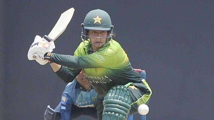 Nahida Khan top scored for Pakistan with a 76-ball 46