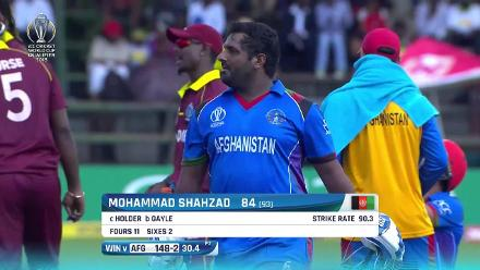 Afghanistan only lost three wickets in their successful chase