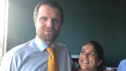 Dirk Nannes, Lisa Sthalekar and Fazeer Mohammed make their final predictions