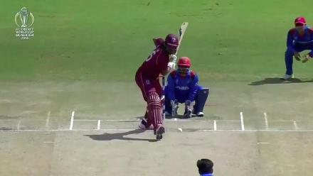 WATCH: Mujeeb snares Gayle for second time in tournament