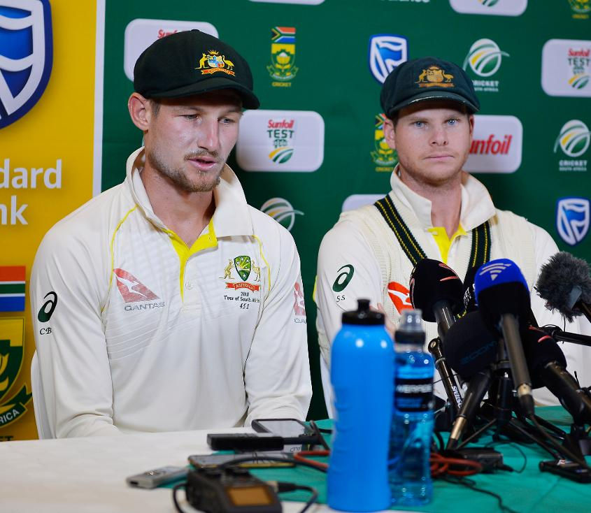 Bancroft and Smith admitted to ball-tampering after day three at Newlands