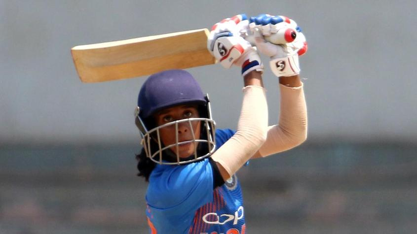 Jemimah Rodrigues was the best of the Indian batters, scoring 50 from 41 balls