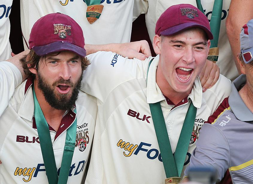 Burns and Renshaw arrive fresh from winning the Sheffield Shield with Queensland