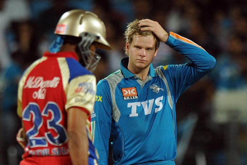 Steve Smith first played in the IPL in 2012