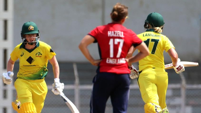 Elyse Villani (51) added 139 for the fourth wicket with Meg Lanning