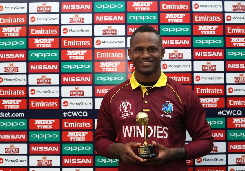 Marlon Samuels was in good form at the ICC CWCQ 2018