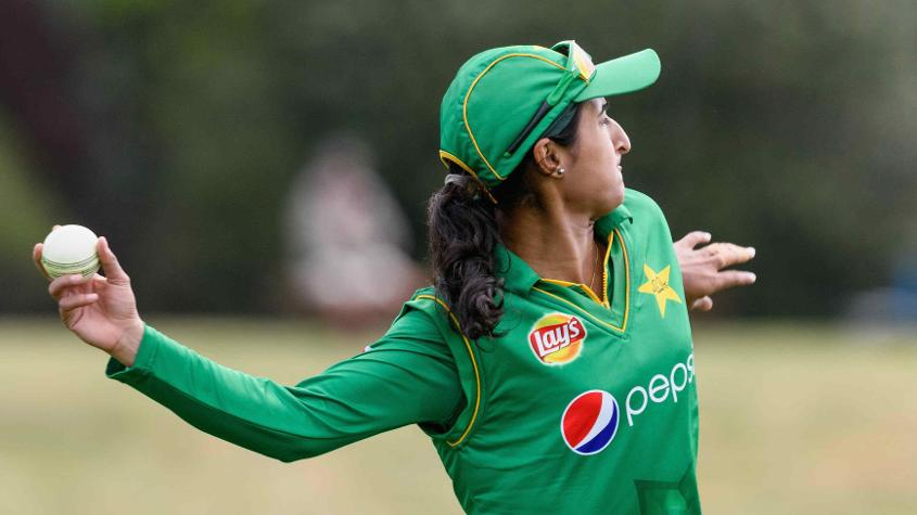 Bismah Maroof didn't do much with the bat but chipped in with two wickets
