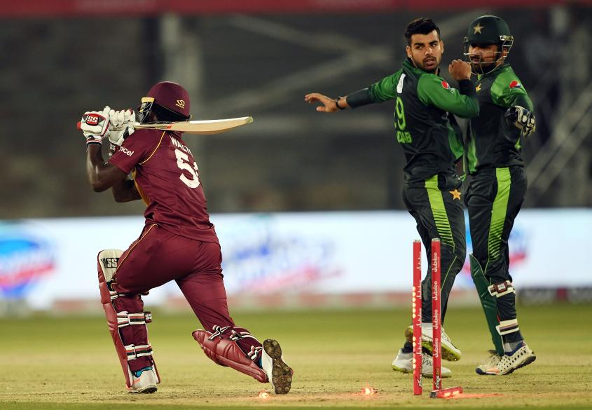 Shadab Khan Found Guilty Of Breaching Icc Code Of Conduct