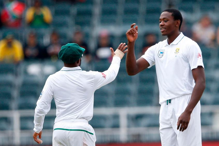Kagiso Rabada was declared Player of the Series for his 23 wickets