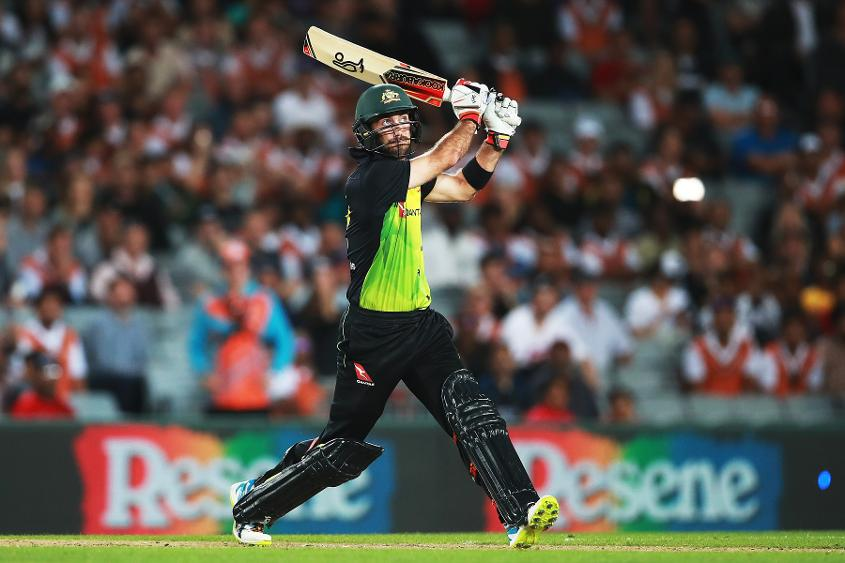 Australia's Glenn Maxwell is sitting at the top of the all-rounders' chart