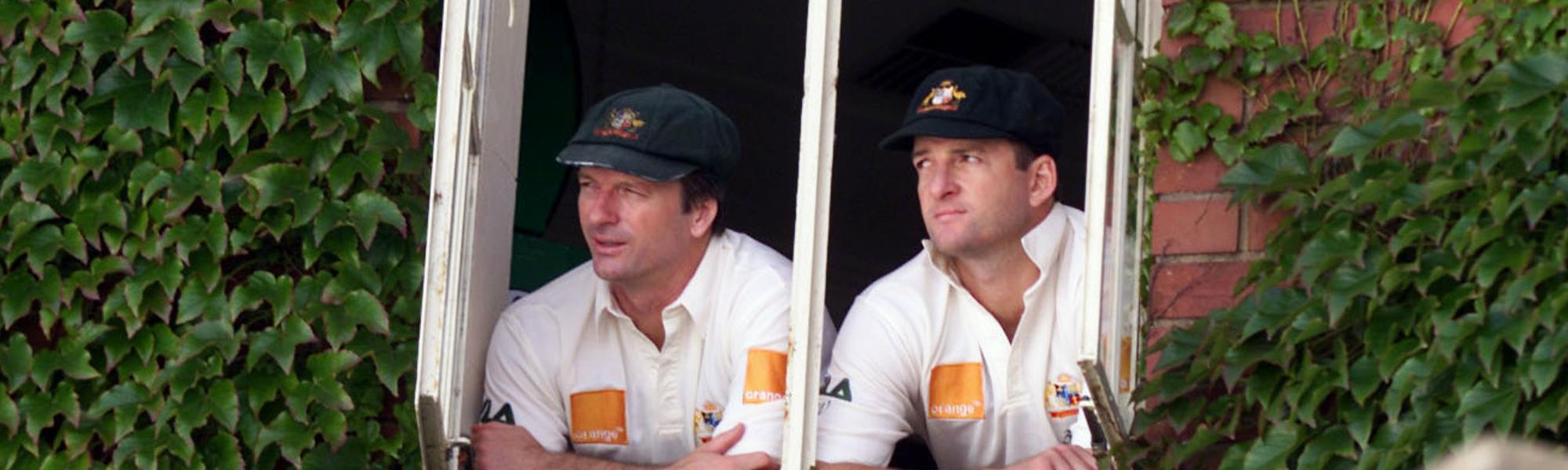 Steve Waugh and Mark Waugh