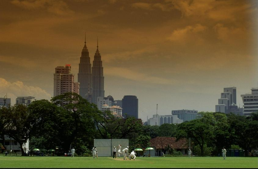 Kuala Lumpur's skyline provided a stunning backdrop for the tournament
