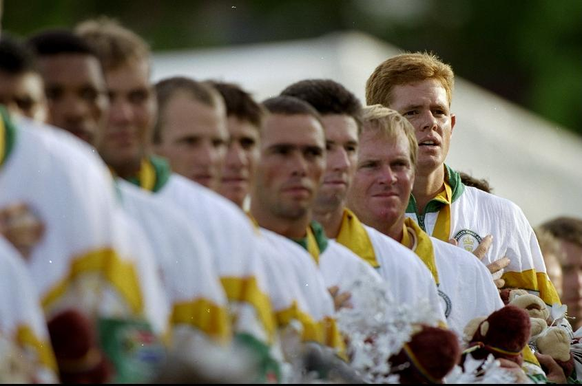 Shaun Pollock captained a strong South African side