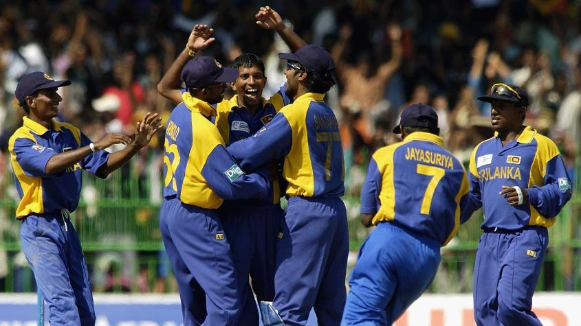 Kumar Dharmasena won the World Cup with Sri Lanka in 1996