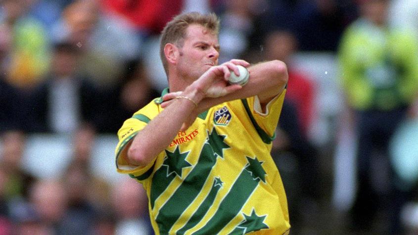 Paul Reiffel was a part of the Australia 1999 World Cup-winning team