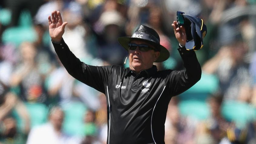 Ian Gould, the England 1983 World Cupper, is a popular umpire now