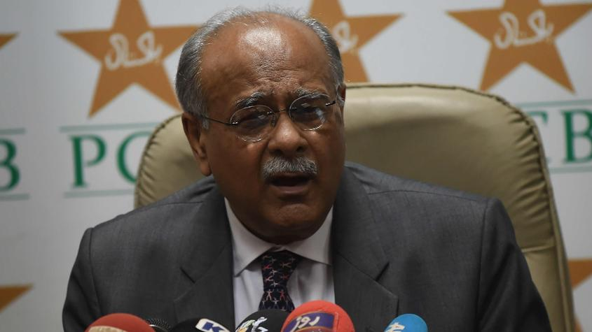 Najam Sethi held out hope for a full series in Pakistan by 2020