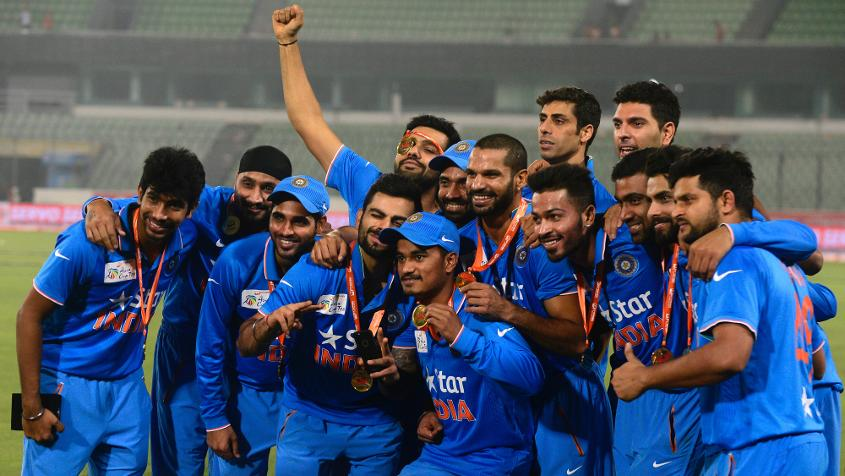 India are the defending champions of the Asia cup
