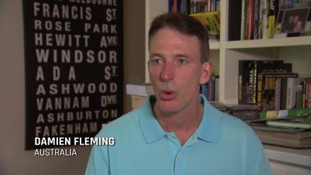 Damien Fleming on that famous missed hat-trick in 1999