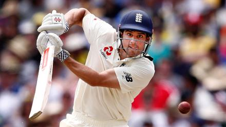 Shortlist - Scott Barbour (Getty Images) Alastair Cook of England bats on the third day of the fourth Test in the Ashes series between Australia and England at Melbourne Cricket Ground, 28 December 2017, Melbourne, Australia