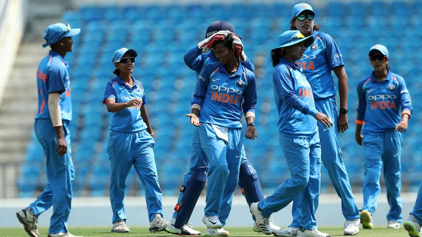 Deepti Sharma picked up the key wickets of Heather Knight and Danielle Hazell