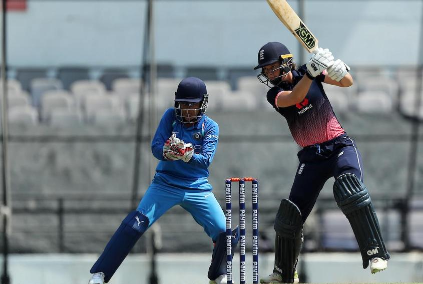 Amy Jones struck a career-best 94 to take her side past the 200-mark