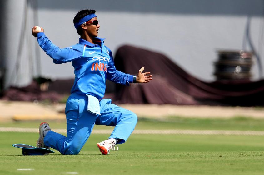 Deepti Sharma put in a strong all-round performance against England