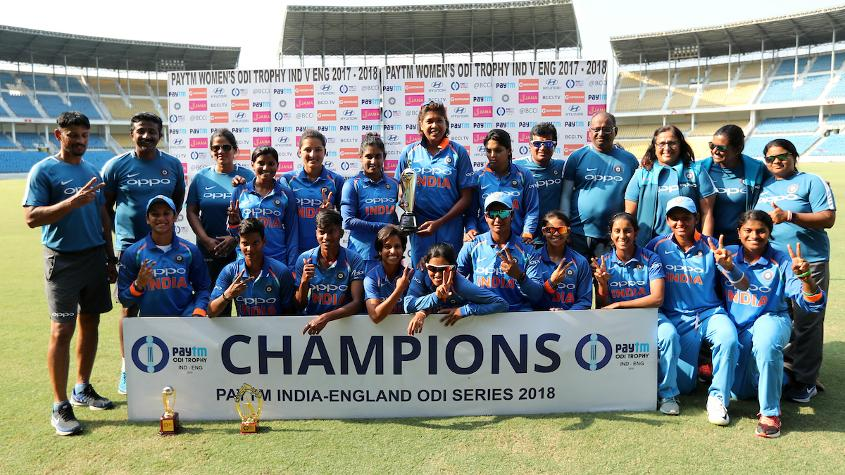 India sealed the three-match ODI series 2-1 with a convincing eight-wicket win