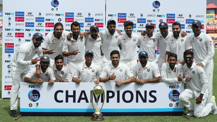 The last time the two sides faced off in Tests, India won the four-match series 2-1 at home