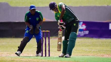 Nigeria scored 165/6 in their victory over Sierra Leone