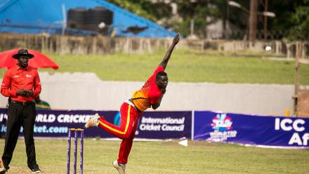 Ghana produced a polished bowling performance to win by 58 runs