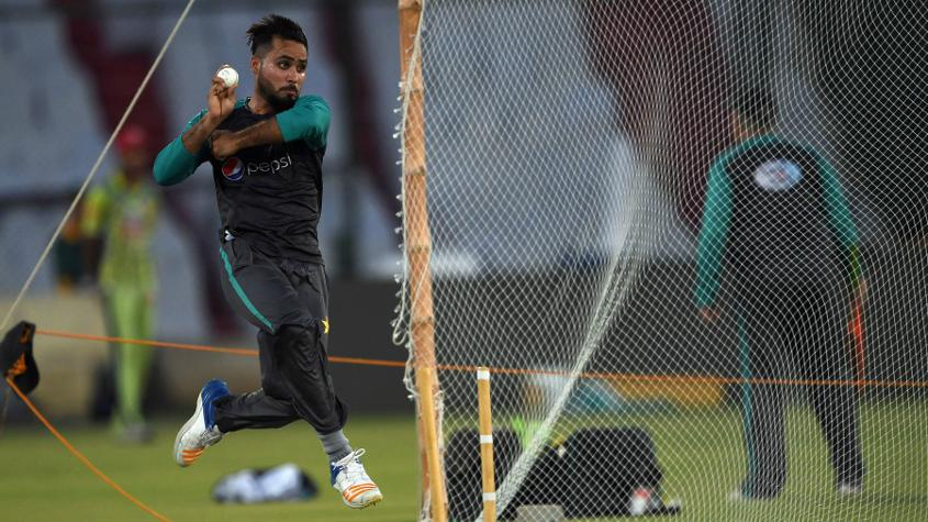 Faheem Ashraf's medium pace will come in handy in the swinging conditions of England and Ireland