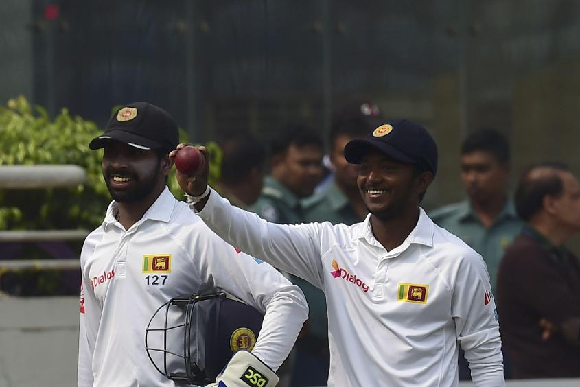 Akila Dananjaya will be looking to add to his one solitary Test match so far