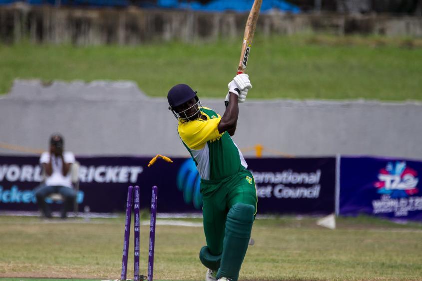 Seye Olympio is bowled