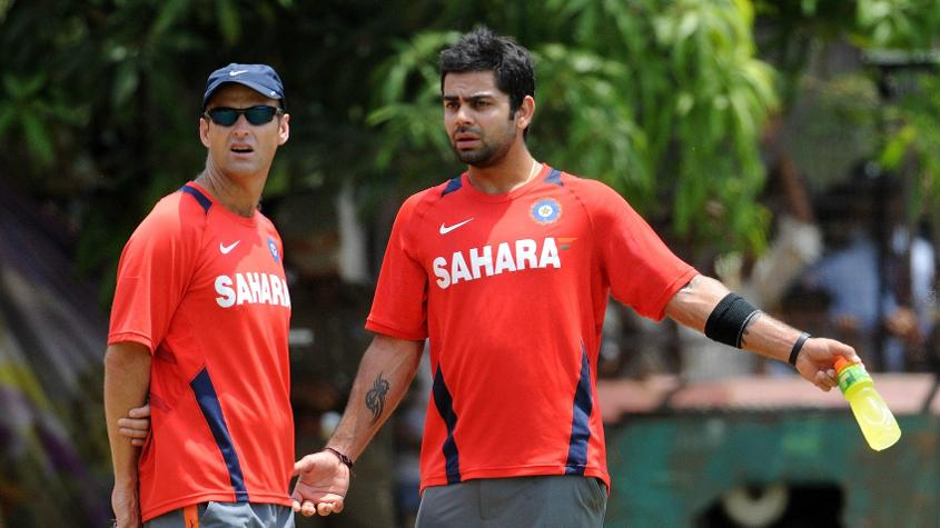 Kohli made his international debut when Kirsten was the Indian team coach