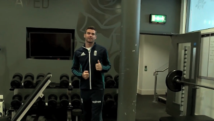 ICC 360 - James Anderson gives a tour of Old Trafford