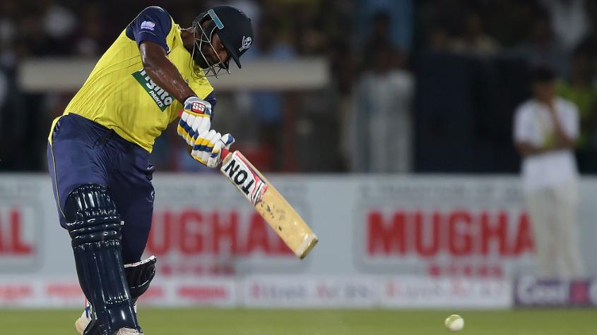 Thisara Perera was part of an ICC World XI side that toured Pakistan recently
