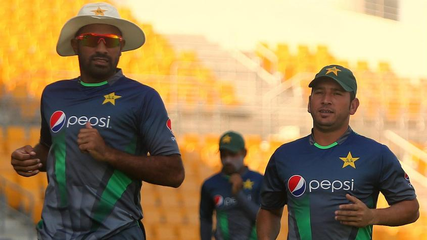 Wahab Riaz (L) has been dropped, while Yasir Shah is out with an injury