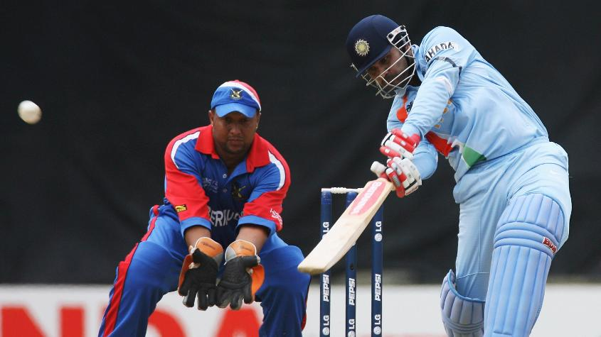 Virender Sehwag smashed a typically brutal century
